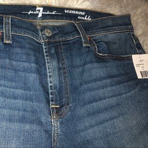For all Mankind skinny jeans